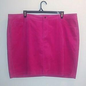 Pink Old Navy Corduroy Skirt